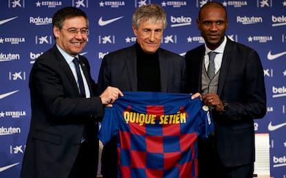 "Barça, ecco Sétien: ""Ho filosofia di gioco chiara"""