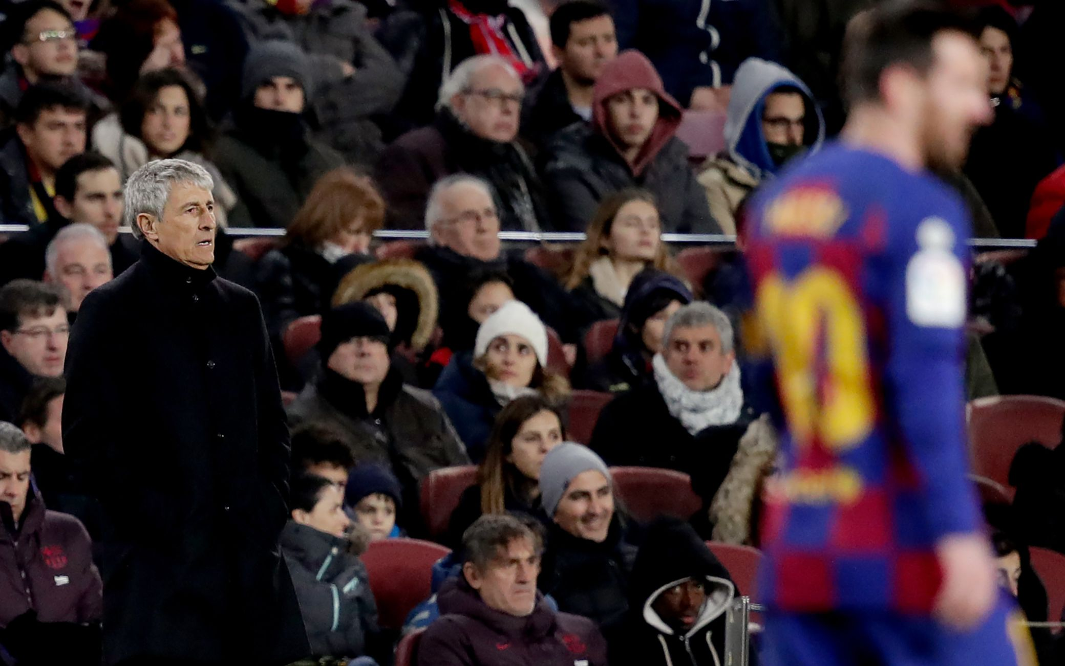 Setien all'esordio sulla panchina del Barcellona