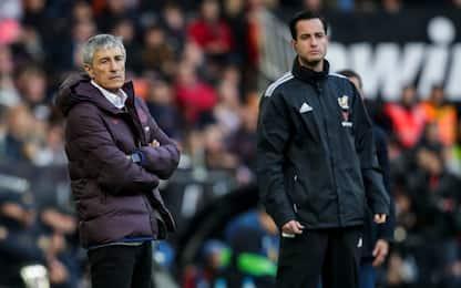 Maxi Gomez piega 2-0 il Barça: primo ko per Setien