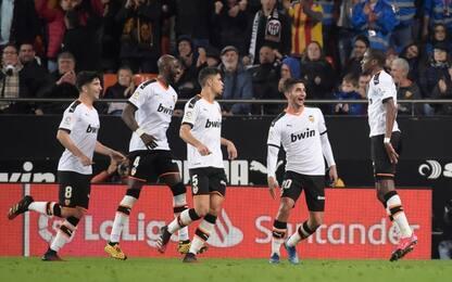 Kondogbia salva il Valencia: 2-2 contro l'Atletico