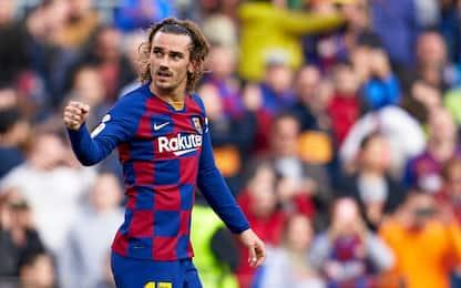 Griezmann-Roberto, il Barça passa sul Getafe 2-1