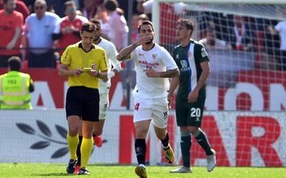 Suso, Milan ricordo lontano: gol e assist in Liga