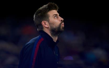 """Caos Barça, Piqué al giornalista: """"Marionetta"""""""