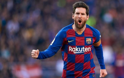 """L'Eibar a Messi: """"Non ci resta che applaudirti"""""""