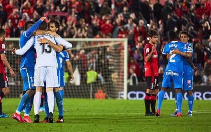 Il Getafe avvisa l'Inter: 1-0 a Maiorca e 4° posto