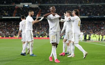 Clásico al Real, 2-0 e sorpasso sul Barcellona