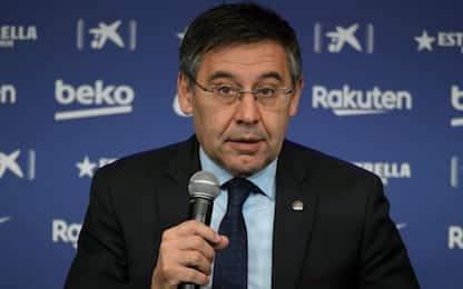 "L'appello di Bartomeu: ""Barcellona, resta a casa"""