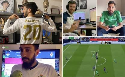Liga in campo… su FIFA 20: Asensio vince il torneo