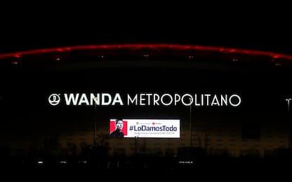 Video contro il coronavirus al Wanda Metropolitano