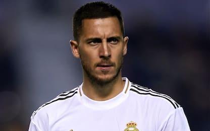 """Hazard: """"Prima stagione al Real deludente"""""""