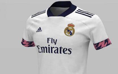 """Real, maglia 2020/21: un dettaglio """"copia"""" Messi"""