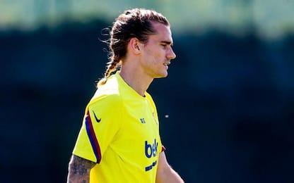 Barça, nuovo look Griezmann: mostra la treccina