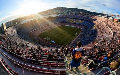 Dalla Spagna: Barça lavora per aprire il Camp Nou