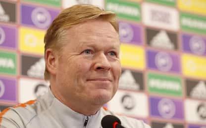 """Koeman: """"Il mio sogno è allenare il Barcellona"""""""