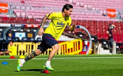 Il Barça ritrova Messi, anche Suarez è recuperato