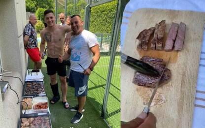 Barbecue con piede ko, Jovic fa arrabbiare il Real