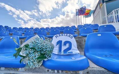 Covid-19, omaggio del Leganes ai tifosi scomparsi