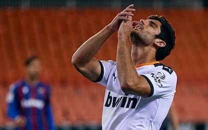 Tutto nel finale: pari Valencia-Levante al 98'