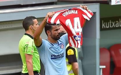 Costa, gol e dedica a Virginia operata di tumore