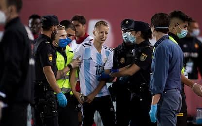 """L'invasore di Maiorca: """"Volevo una foto con Messi"""""""