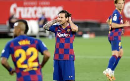 Il Barça si ferma a Siviglia: 0-0 e Real a solo -3