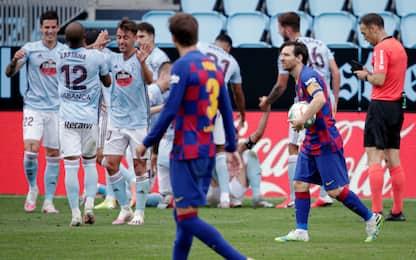 Iago Aspas frena il Barça all'88': 2-2 col Celta