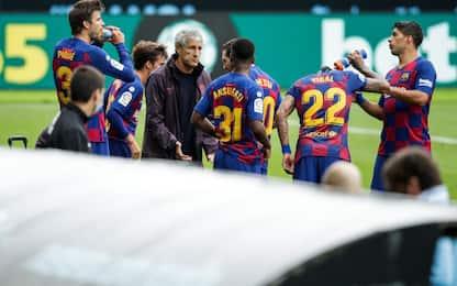 Barça, lite Setien-senatori. E Xavi si candida...
