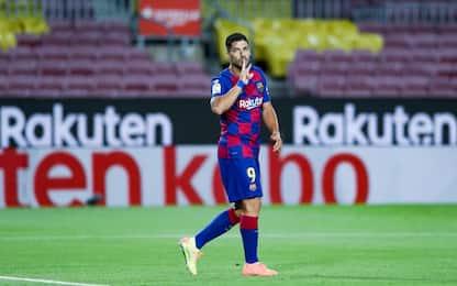 Il derby al Barça: Suarez liquida l'Espanyol