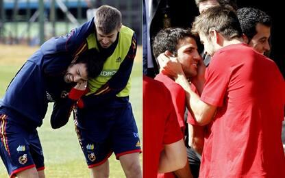 """Fabregas: """"Il più pazzo con cui ho giocato? Piqué"""""""