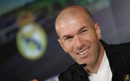 """Zidane: """"Futuro? Ho un contratto qui, ma chissà"""""""