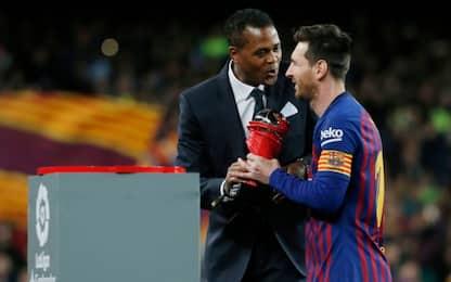 Dalla Spagna: lo spogliatoio Barça vuole Kluivert