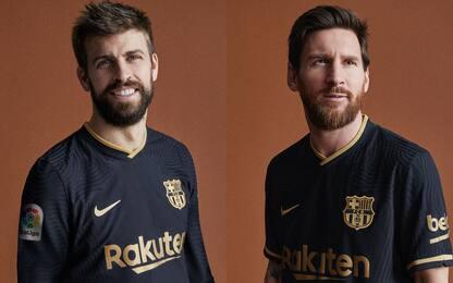 Barça da trasferta: ecco la maglia 20-21. FOTO