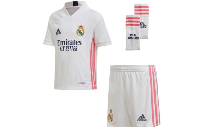 Real Madrid, la nuova maglia 2020 2021 è ufficiale: ecco la prima ...
