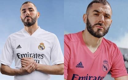 Bianco e rosa: così il Real Madrid 2020/21. FOTO