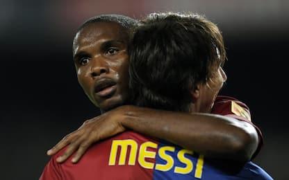"Eto'o: ""Iniesta meglio di Messi, Hazard vale Leo"""