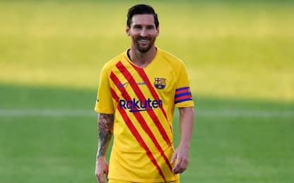 Messi torna in campo: ceduto un rigore a Griezmann