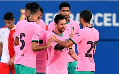 Messi torna al gol: doppietta al Girona. VIDEO