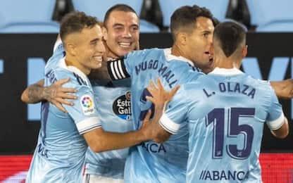 Aspas show, Valencia ko: Celta capolista in Liga