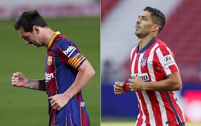 Messi-gol, poker Barça. Che esordio per Suarez
