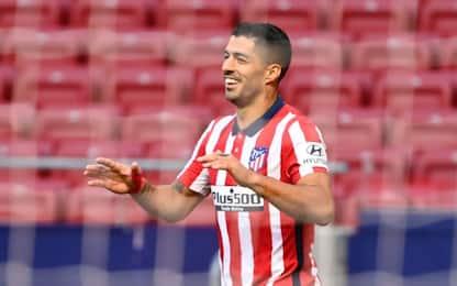 Suarez, esordio da sogno: 2 gol e un assist in 23'