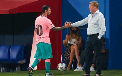 """Messi-Barça, pace fatta: """"Ora ripartiamo insieme"""""""