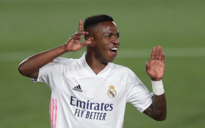 Vinicius lancia il Real, Suarez e Atletico a secco