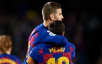 """Piqué: """"Messi deve aspettare, qui cambierà tutto"""""""