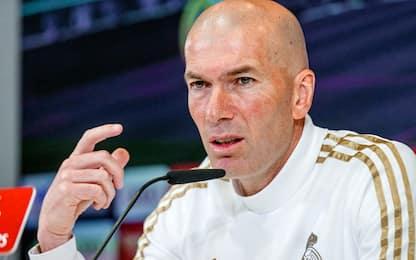 """Zidane: """"So di essere in bilico, ma ce la faremo"""""""