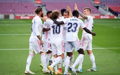 Il Clasico è del Real, 3-1 al Barça al Camp Nou