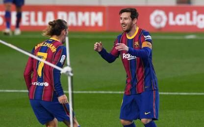 Il Barcellona vola con Messi: 5-2 al Real Betis