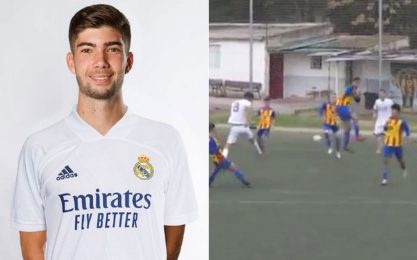 "Theo Zidane replica il gol ""alla McManaman"". VIDEO"