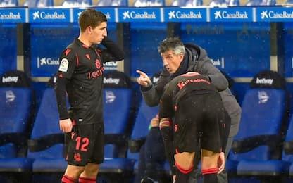 La Real Sociedad manca la vetta: 0-0 con l'Alaves