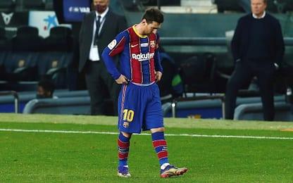 Messi, problema alla caviglia: resta in Argentina