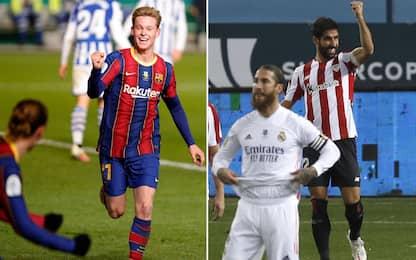 Supercoppa spagnola: la finale sarà Barça-Bilbao